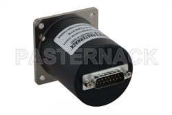 SP6T Electromechanical Relay Latching Switch, Terminated, DC to 26.5 GHz, up to 90W, 12V, SMA View 2