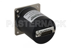 SP6T Electromechanical Relay Latching Switch, Terminated, DC to 26.5 GHz, up to 90W, 28V, SMA View 2