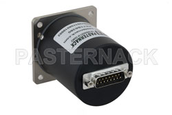 SP6T Electromechanical Relay Normally Open Switch, Terminated, DC to 18 GHz, up to 90W, 12V, SMA View 2