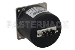 SP8T Electromechanical Relay Normally Open Switch, DC to 18 GHz, up to 90W, 12V, SMA View 2