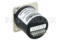 SP6T Electromechanical Relay Normally Open Switch, DC to 18 GHz, up to 90W, 28V, SMA View 2