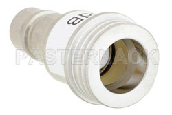 3 dB Fixed Attenuator, QN Male to QN Female Brass Tri-Metal Body Rated to 1 Watt Up to 3 GHz View 2