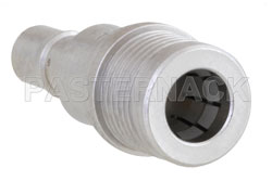 12 dB Fixed Attenuator, QMA Male to QMA Female Brass Tri-Metal Body Rated to 1 Watt Up to 6 GHz View 2