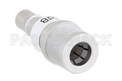 6 dB Fixed Attenuator, QMA Male to QMA Female Brass Tri-Metal Body Rated to 1 Watt Up to 6 GHz View 2