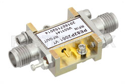 Analog Phase Shifter, 6 GHz to 15 GHz, With an Adjustable Phase of 120 Deg. Per GHz and SMA View 2