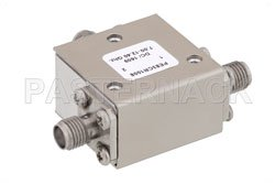 High Power Circulator With 20 dB Isolation From 7 GHz to 12.4 GHz, 50 Watts And SMA Female View 2