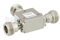 High Power Circulator With 20 dB Isolation From 7 GHz to 12.4 GHz, 50 Watts And N Female View 2