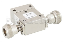 High Power Isolator With 18 dB Isolation From 4 GHz to 8 GHz, 50 Watts And N Female View 2