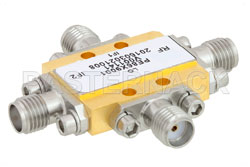 IQ Mixer Operating From 6 GHz to 10 GHz With an IF Range From DC to 3.5 GHz And LO Power of +19 dBm, Field Replaceable SMA View 2