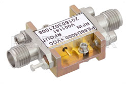 Frequency Divider, Divide by 5 Prescaler Module, 500 MHz to 8 GHz, Field Replaceable SMA View 2