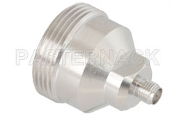Low PIM SMA Female to 7/16 DIN Female Adapter, Low VSWR View 2