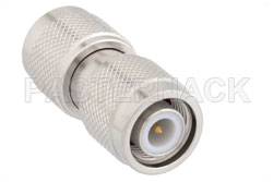 TNC Male to TNC Male Adapter, IP67 Mated View 2