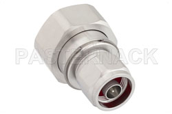 7/16 DIN Male to N Male Adapter, IP67 Mated View 2