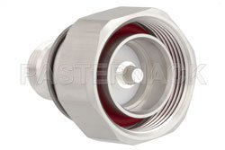 7/16 DIN Male to N Female Adapter, IP67 Mated View 2