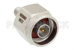 Precision N Male to SMA Female Adapter View 2