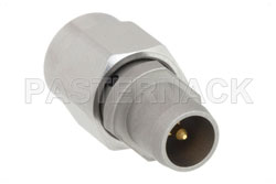 Slide-On BMA Plug to SMA Male Adapter View 2