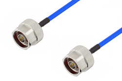 N Male to N Male Cable Using PE-141FLEX Coax, RoHS