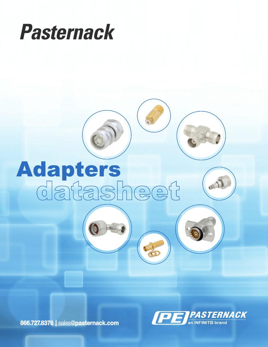 Datasheet Library - RF Adapters