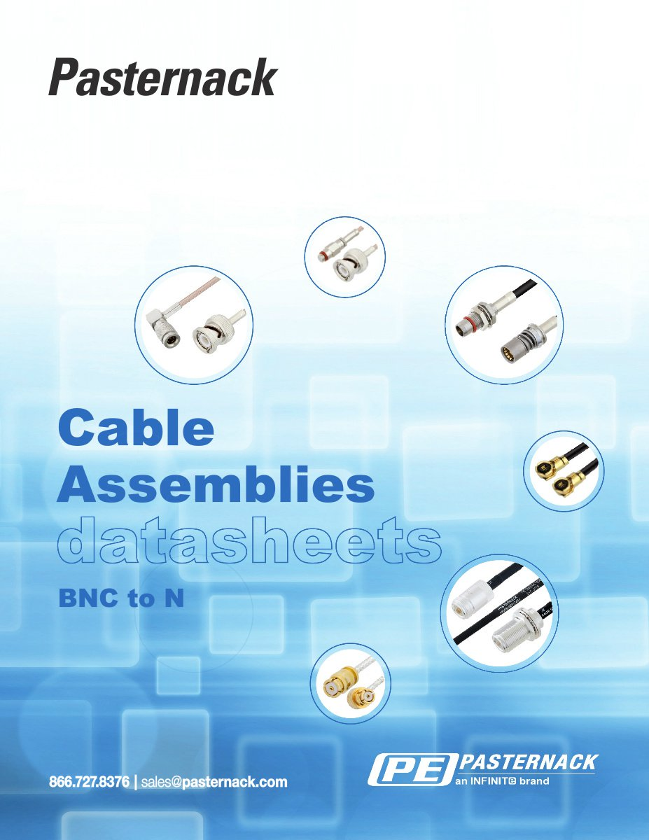 Datasheet Library - BNC to N RF Cable Assemblies