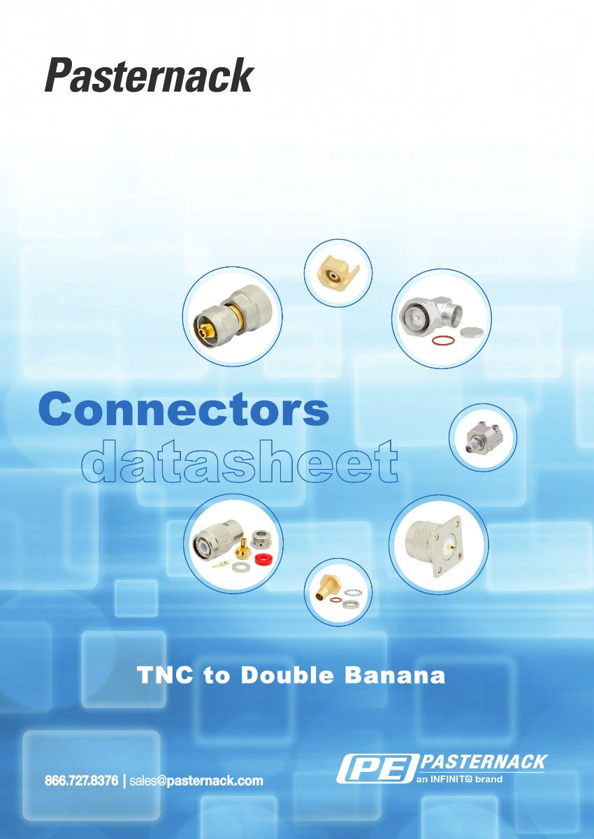Datasheet Library - TNC to Double Banana RF Connectors