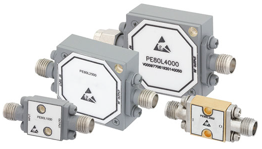 Broadband High Power Coaxial Limiters