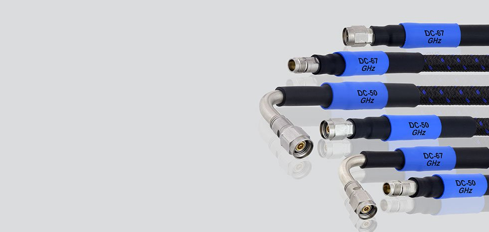 Flexibility VNA Cables Up to 50 & 67 GHz