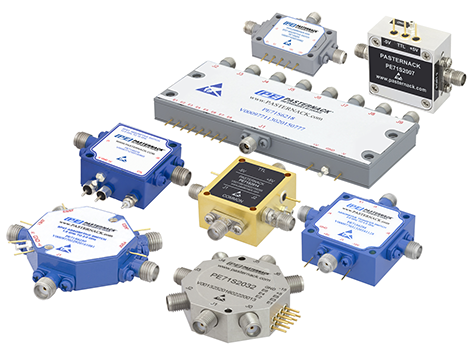 PIN Diode switches from Pasternack Enterprises