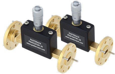Millimeter Wave Continuously Variable Waveguide Attenuators